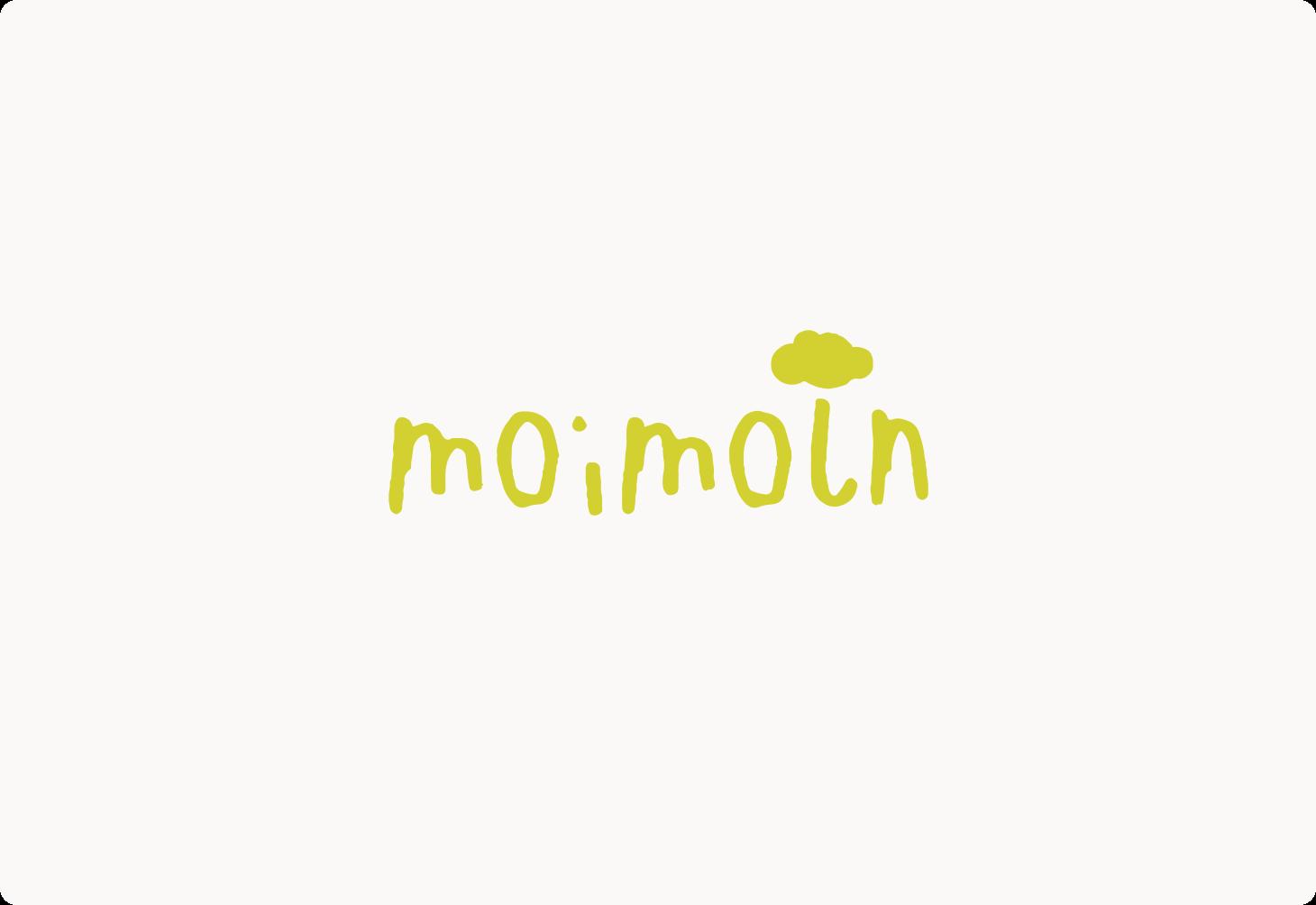 ロゴ「moimoln」